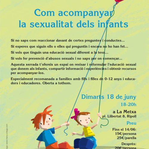 Com acompanyar la sexualitat dels infants